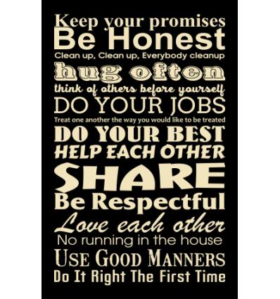 Skilt 108 - Keep your promises