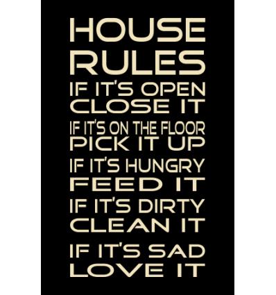 Skilt 111 - House rules